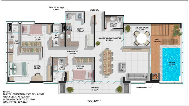 Condomínio Humberto de Campos - Apartamento - Parnaíba-Piaui - Foto 20