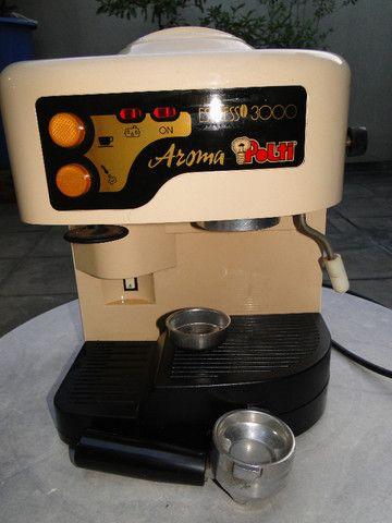 Máquina De Cafe Expresso Aroma Polti 3000 Funcionando