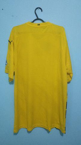 Camisa do Borussia Amarela Masculina 2020/21 - Foto 4
