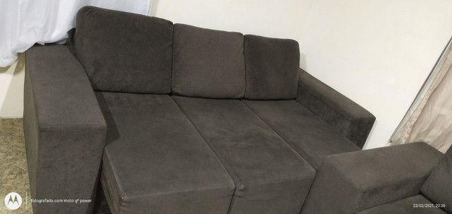 Sofá reclinável 2 e 3 lugares - Foto 4