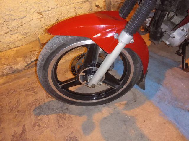 Roda três paletas freio a disco Titan 150 ou 160 - Foto 4