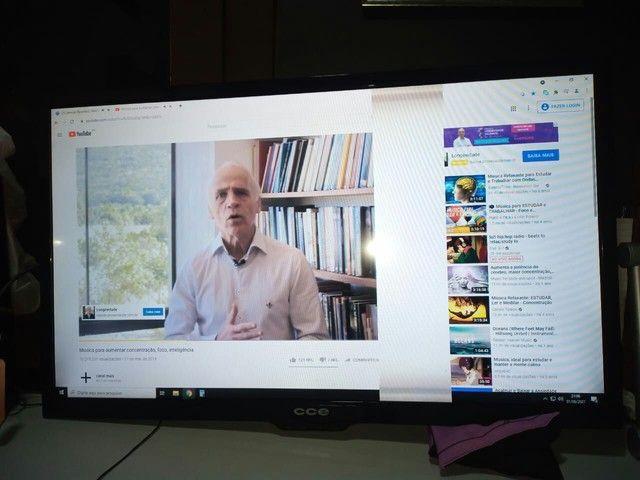 Tv led cce 39 polegadas c/defeito  - Foto 4