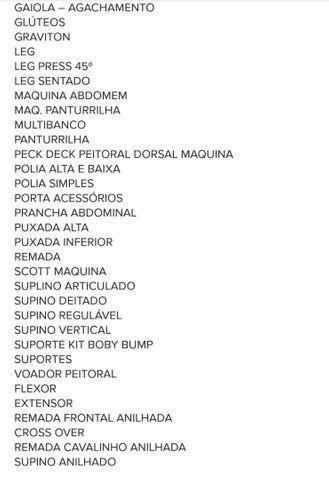 70 Projetos (equipamentos de academia)  - Foto 3