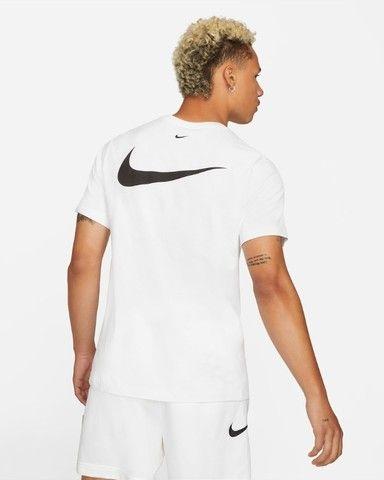 Camiseta Nike Double Swoosh Bordado Original - Foto 2