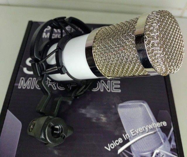 *Microfone Condensador Profissional * - Foto 5
