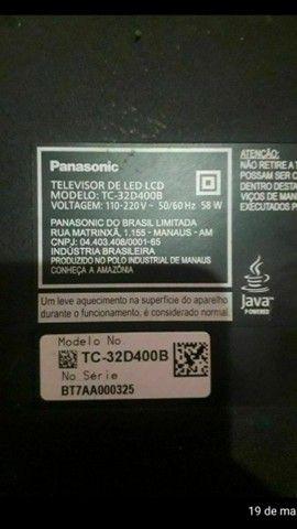 TV Panasonic displey quebrado