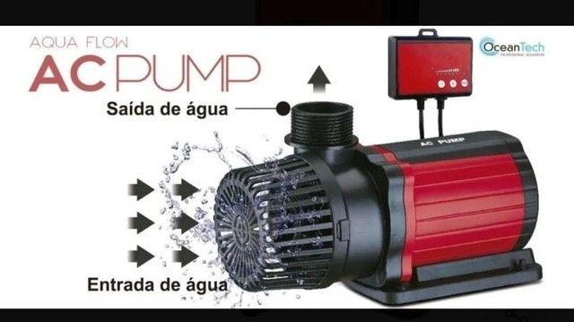 AC Pump Bomba Submersa Ocean Tech 3000 l/h 28w - Foto 3