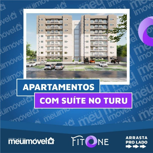 [104] Fit One, apartamentos com 2 quartos, Turu