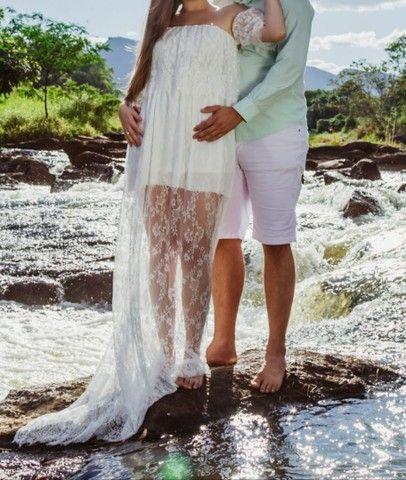 Vestido para ensaio noiva ou gestante - Foto 2