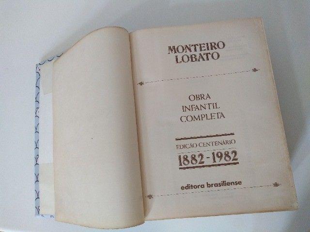 Obra Infantil Completa: Edição Centenário 1882 - 1982 Monteiro Lobato - Foto 2