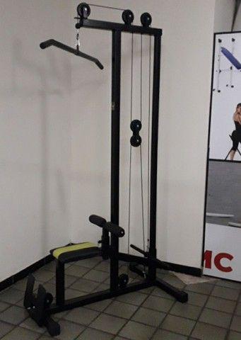 Musculação - Puxador Pulley com remada baixa ( Produto novo )
