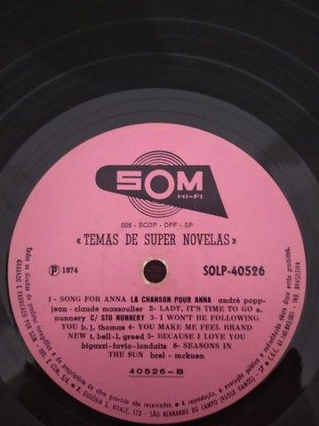 LP\Disco de Vinil - Temas de Super Novelas - 1974 - Foto 3