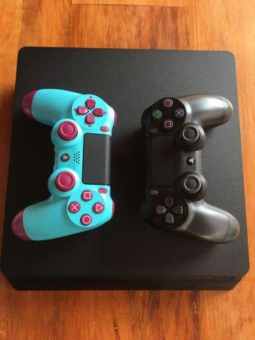 Vendo PlayStation 4 1tb seminovo  - Foto 2