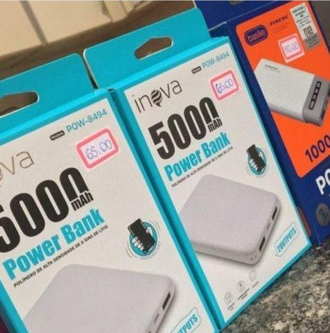 Powerbank Inova 5000mah e Basike 10.000
