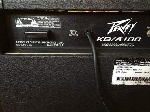 Amplificador Peavey KB/A 100 - Foto 4