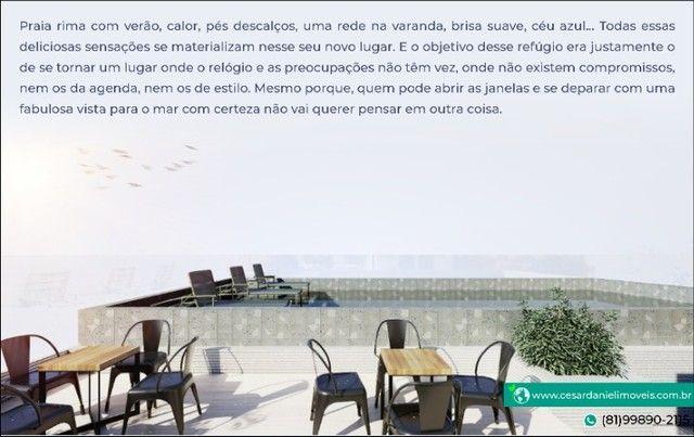 Lançamento no Centro de Porto com 2 Quartos + 50m²   Flats em Porto de Galinhas - Foto 3