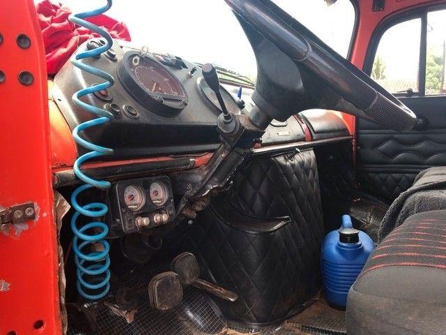 Caminhão caçamba 1113 pronto para negócio  - Foto 2