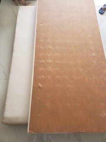 Cama box com colchão e Cama Auxiliar Solteirão - Foto 5