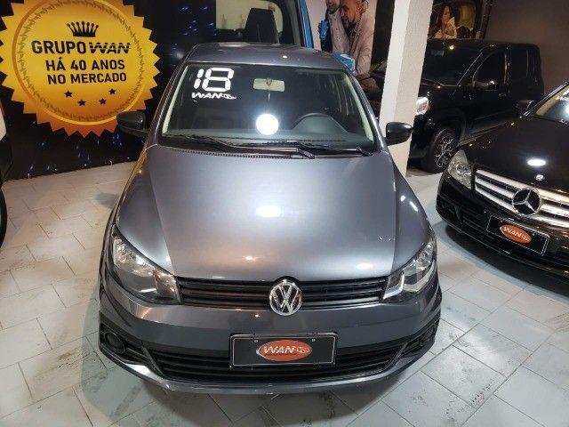 VW - Voyage Trendline 1.0 2018 GNV - Foto 2