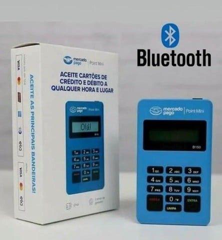 Entrega Grátis - Maquina Maquininha Cartão Mercadopago Point Bluetooth - Foto 2