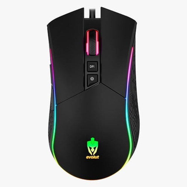 Mouse Gamer Skadi RGB 4.800DPI - Evolut - Foto 2