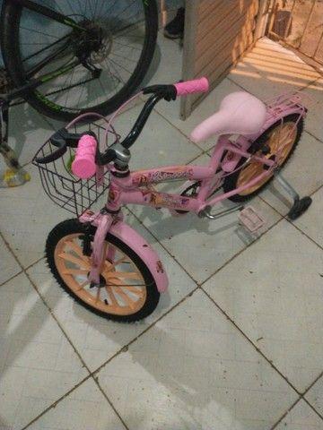 Bicicleta Aline aro 16 245,00 i bike e cemi nova