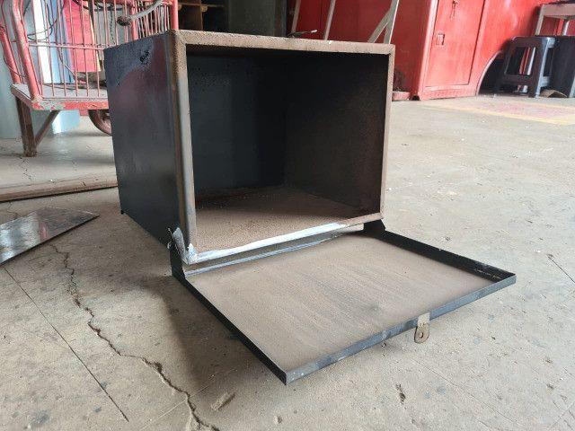 Caixa de Ferramentas Pequena Para Instalar no Caminhão - Foto 3