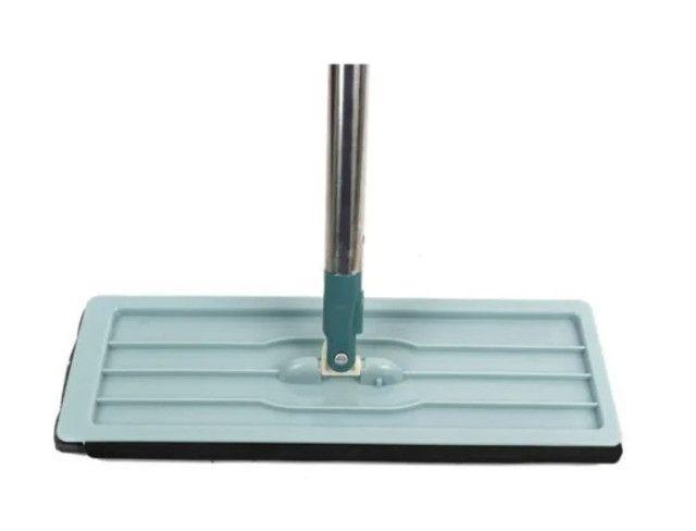 Mop Lava E Seca Flat Multiuso Rodo Balde 7L + 3 Refil Extra + Frete grátis - Foto 3