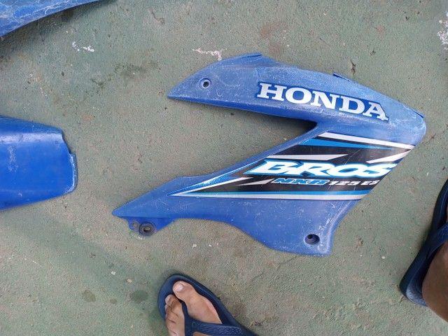 Peças da Bros 150 e 160 azul  - Foto 3