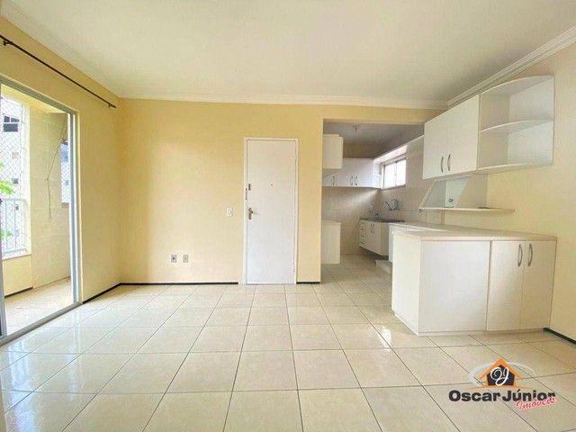 Apartamento com 3 dormitórios à venda, 64 m² por R$ 198.000,00 - Vila União - Fortaleza/CE - Foto 2