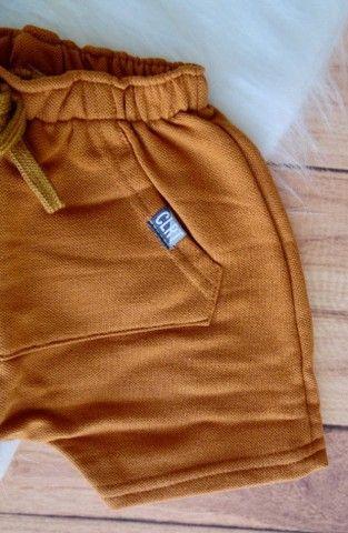 Conjunto Infantil Colorittá Menino Camiseta E Bermuda - Foto 6