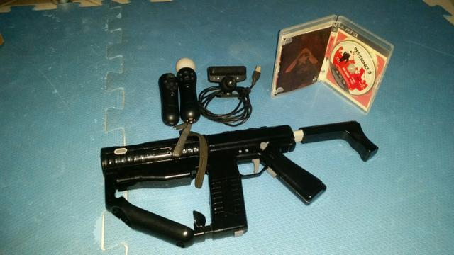 Kit Sharp Shooter - Metralhadora PS3