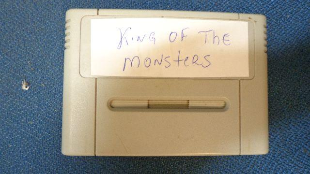 Cartucho King Of The Monsters - Sem Label