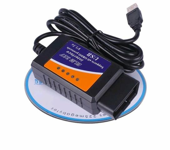 ELM327 Interface USB Scanner versão 1 5 - Carros, vans e