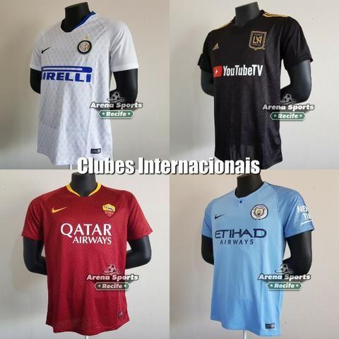 Camisas Futebol - Seleções e Clubes - Grande variedade 7accc1a9440a4