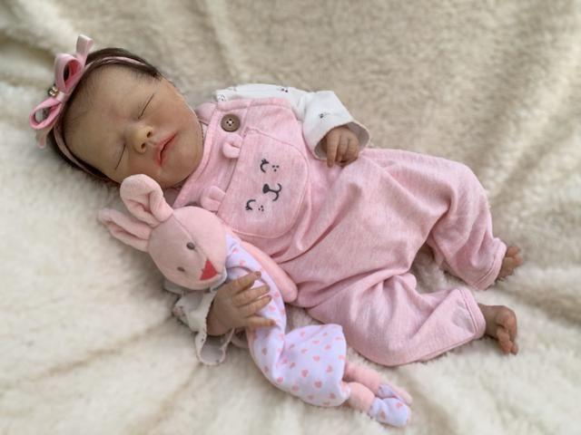 Bebê reborn olhos fechados - Foto 6