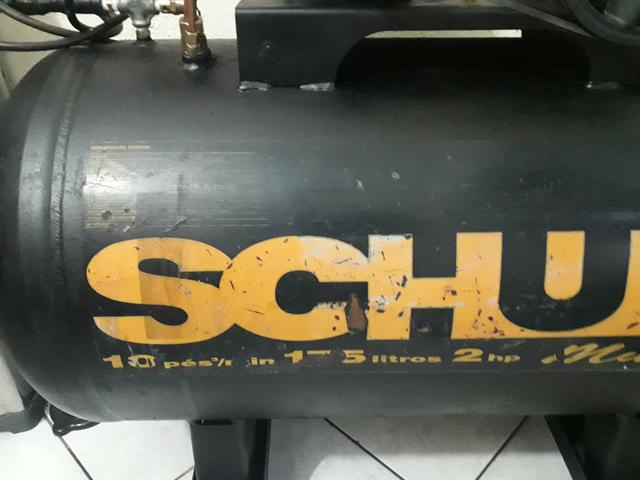 Compressor Schulz 10 pés 175 litros - Foto 2