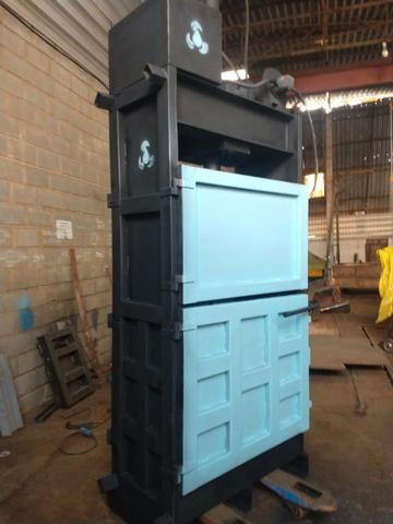 Prensas vertical para reciclagem prensa nova - Foto 6