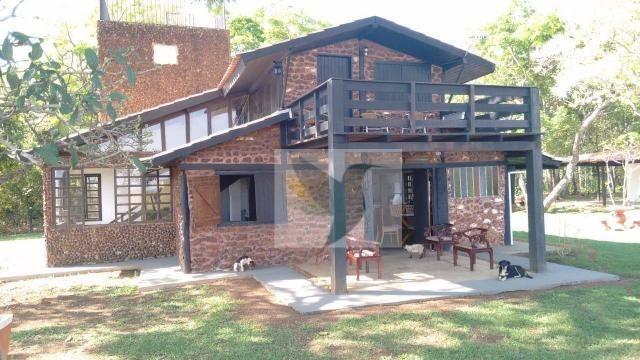 Chácara com 3 dormitórios à venda, 20000 m² por r$ 1.350.000,00 - centro - chapada dos gui - Foto 2