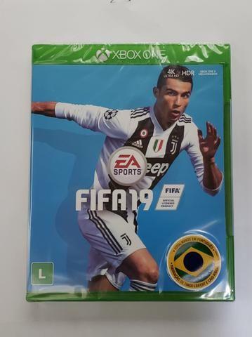 Fifa 19 Xbox Box One novo e lacrado