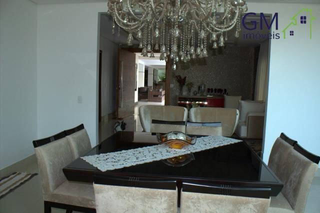 Casa a venda / setor de mansões / 4 suítes / piscina / churrasqueira / varanda / sobradinh - Foto 13