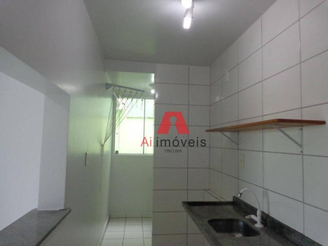 Apartamento com 2 dormitórios para alugar no via parque, 49 m² por r$ 937/mês - floresta s - Foto 7