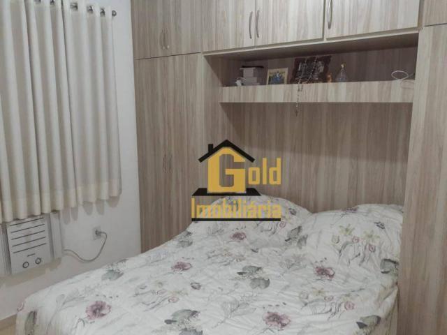 Apartamento com 2 dormitórios para alugar, 46 m² por R$ 1.200/mês - Jardim Heitor Rigon -  - Foto 7