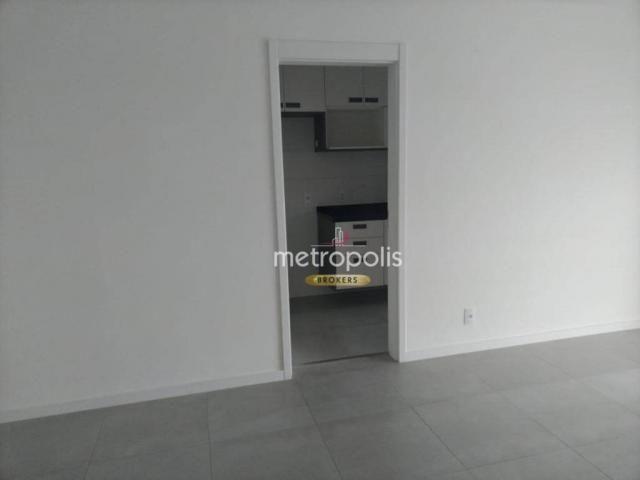Apartamento com 2 dormitórios para alugar, 69 m² por r$ 2.500/mês - cerâmica - são caetano - Foto 5