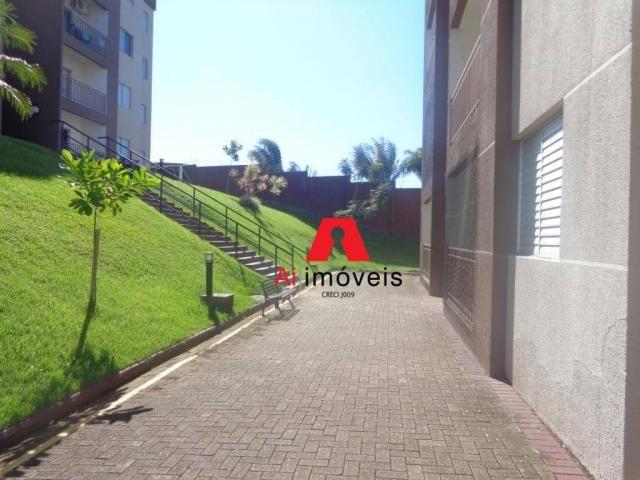 Apartamento com 2 dormitórios sendo 1 suíte, à venda, 67,20 m² por r$ 270.000 - conjunto m - Foto 2