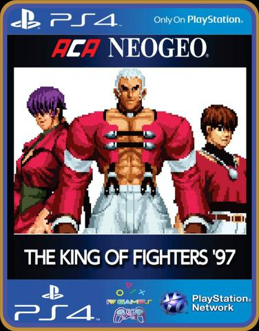 Ps4 the king of figthers 94,95,96,97,98 kof