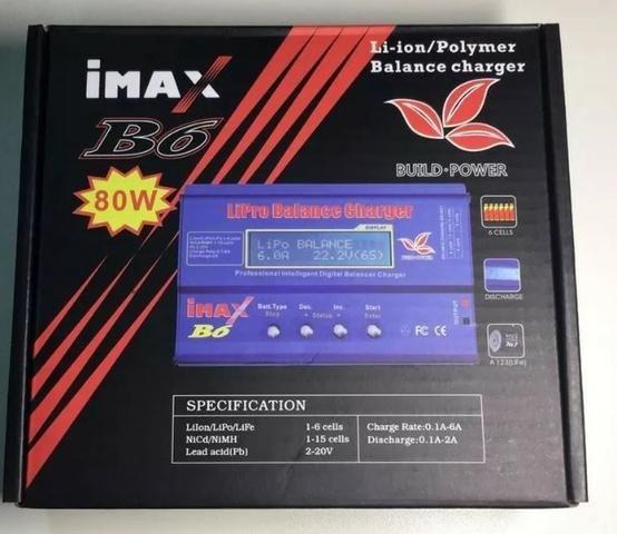 Carregador Bateria Lipo Imax B6 80w - Foto 5