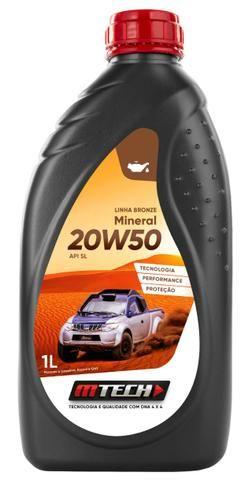 Oleo Motor Mineral 20w50 Sl Bronze 1lt Mtech