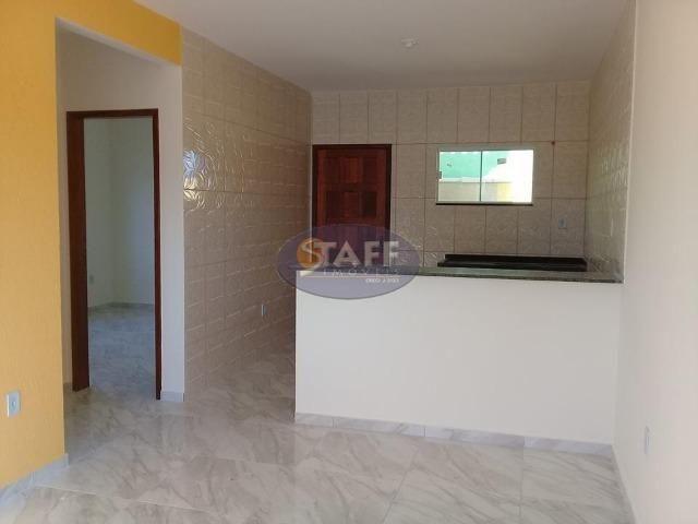 OLV-Casa com 2 dormitórios à venda, 55 m² por R$ 85.000 - Unamar - Cabo Frio/RJ CA0956 - Foto 3