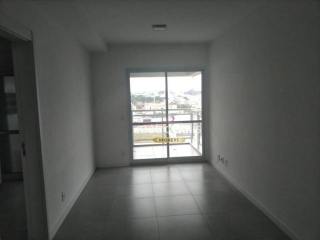 Apartamento com 2 dormitórios para alugar, 69 m² por r$ 2.500/mês - cerâmica - são caetano - Foto 3